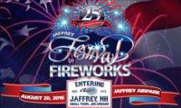 Jaffrey Festival of Fireworks 2016